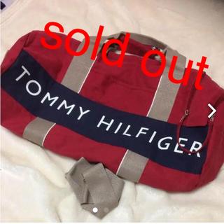 トミーヒルフィガー(TOMMY HILFIGER)の本日限定❗️新品❗️トミーヒルフィガー ドラムバック❤️(ドラムバッグ)