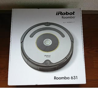 アイロボット(iRobot)のお掃除ロボット Roomba 631(掃除機)