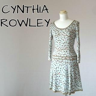 シンシアローリー(Cynthia Rowley)のCYNTHIA ROWLEY シンシアローリー ワンピース(ひざ丈ワンピース)