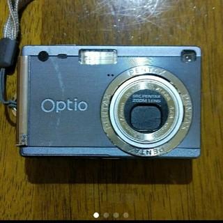 ペンタックス(PENTAX)の★処分価格★デジカメ Optio S4i 専用ケース付(コンパクトデジタルカメラ)