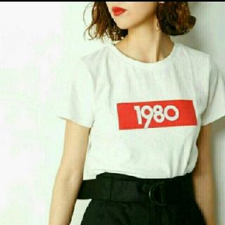 スライ(SLY)のスライ 1980 ロゴTシャツ(Tシャツ(半袖/袖なし))