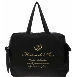 Maison de FLEUR - ❤️大人気完売品❤️✈︎折りたたみトラベルキャリーオンバッグ ✈︎