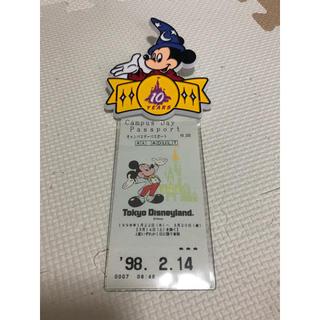 ディズニー(Disney)の10周年パスケース(パスケース/IDカードホルダー)