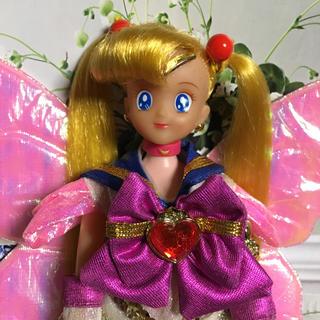 バンダイ(BANDAI)の希少 当時物 1993年 BANDAI スーパーセーラームーン 美品(人形)