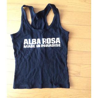 アルバローザ(ALBA ROSA)のアルバローザ メイパラ  タンクトップ(タンクトップ)