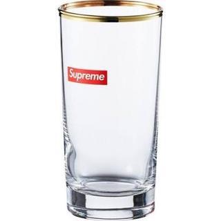 シュプリーム(Supreme)の未使用品!Supreme 15AW Bar Glass Boxロゴ グラス(グラス/カップ)
