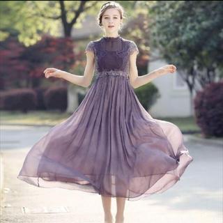 結婚式 ドレス ワンピース(ミディアムドレス)