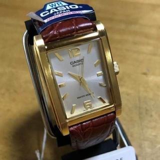 カシオ(CASIO)の新品✨カシオ クオーツ メンズ 腕時計 MTP-1235GL-7ADF シルバー(腕時計(アナログ))