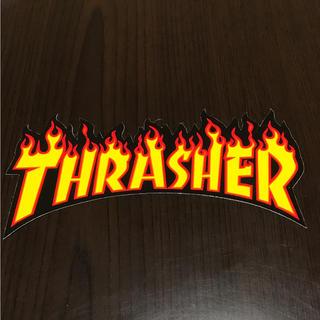 THRASHER - 【縦8cm横15cm】THRASHER ファイアーロゴステッカー