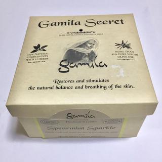 ガミラシークレット(Gamila secret)のガミラシークレット 石鹸 スペアミント スパークル (ボディソープ / 石鹸)