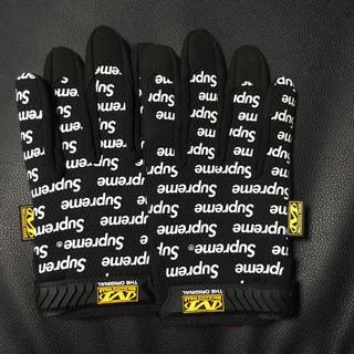 シュプリーム(Supreme)のシュプリーム グローブ 手袋 supreme ブラック(手袋)