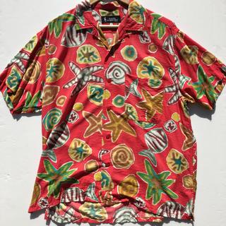 エンジニアードガーメンツ(Engineered Garments)のレア 初期 nigel cabourn ナイジェル ケーボン アロハシャツ (シャツ)