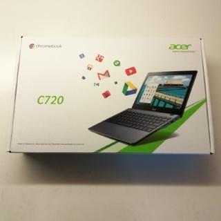 エイサー(Acer)のacer chromebook C720 日本語キーボード版 中古品(ノートPC)