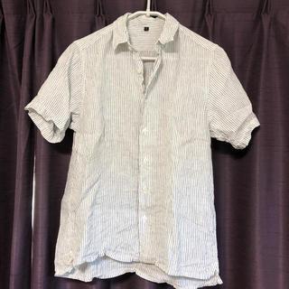 無印良品 フレンチリネン  半袖シャツ Sサイズ