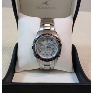 カシオ(CASIO)のお値引き!カシオ オシアナス マンタ  OCW−S1200 使用僅か美品(腕時計(アナログ))