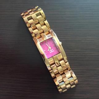 カバンドズッカ(CABANE de ZUCCa)のCABANE de ZUCCA ピンクゴールド 腕時計(腕時計)