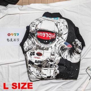 シュプリーム(Supreme)のSupreme astronaut jacket Lサイズ 黒(その他)