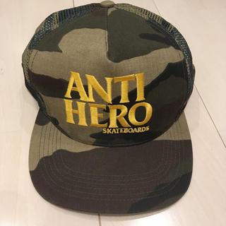 アンチヒーロー(ANTIHERO)のANTI HERO メッシュ キャップ CAP 帽子(キャップ)