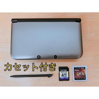 ニンテンドウ(任天堂)のニンテンドー3DS LL シルバー×ブラック(携帯用ゲーム本体)