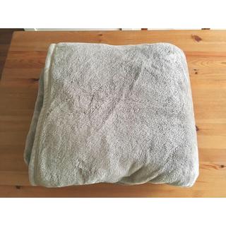 ムジルシリョウヒン(MUJI (無印良品))の無印良品◯あたたかファイバー毛布 ダブル(毛布)