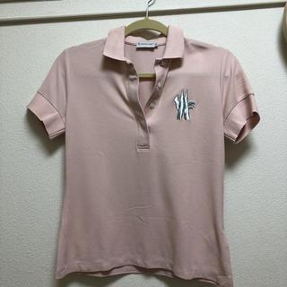 モンクレール(MONCLER)のモンクレール ポロシャツ ピンク(ポロシャツ)