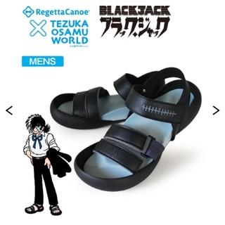 リゲッタカヌー(Regetta Canoe)のRegettaCanoe×手塚治虫ワールド ブラック・ジャックサンダル(サンダル)