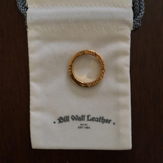 ビルウォールレザー(BILL WALL LEATHER)のビルウォールレザー ジルコニアリング(リング(指輪))