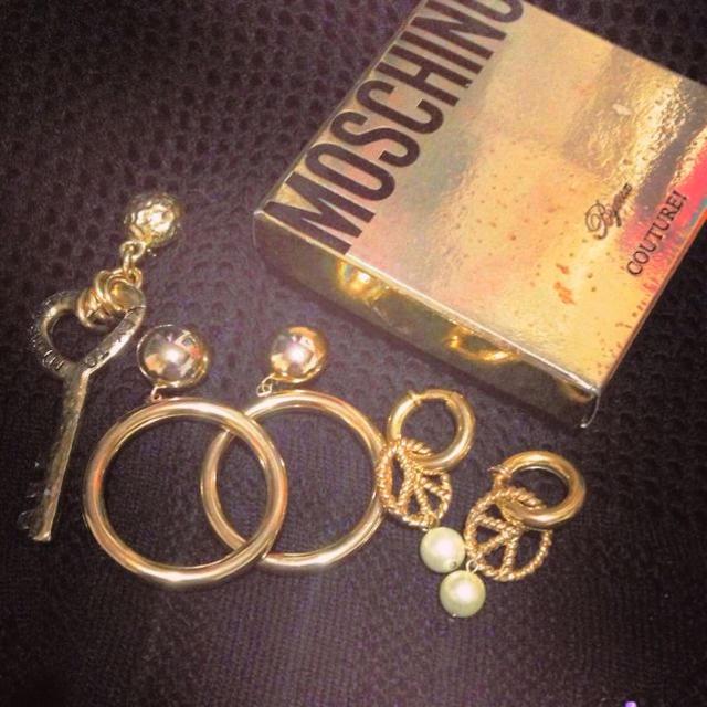 MOSCHINO(モスキーノ)のMOSCHINOイヤリングSET レディースのアクセサリー(イヤリング)の商品写真