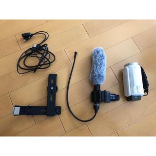 ソニー(SONY)のカメラ ビデオカメラ ソニー sony セット ショットガンマイク カメラマイク(ビデオカメラ)