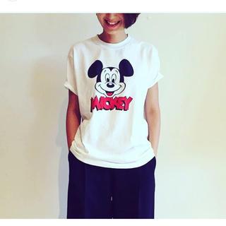 ビューティアンドユースユナイテッドアローズ(BEAUTY&YOUTH UNITED ARROWS)の試着のみ<6(ROKU)>新宿店限定 ミッキーTシャツ(Tシャツ(半袖/袖なし))