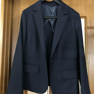 アオヤマ(青山)のお値引き 中古品 15号濃紺スーカートスーツ(スーツ)