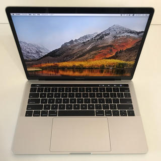 アップル(Apple)のMacbook pro 13.3 2017 16GB 512GB USキー(ノートPC)