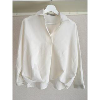 エヌナチュラルビューティーベーシック(N.Natural beauty basic)の美品♡スキッパーシャツ(シャツ/ブラウス(長袖/七分))