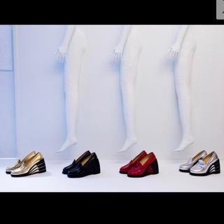 アンリアレイジ(ANREALAGE)のアンリアレイジ ローファー パンプス(ローファー/革靴)
