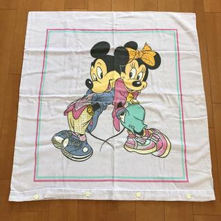 ディズニー(Disney)のビンテージピロー ミッキーミニー(生地/糸)