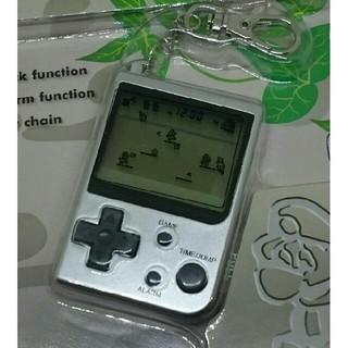 ニンテンドウ(任天堂)の海外ゲームウォッチ、スーパーマリオブラザーズMINI CLASSIC アラーム(携帯用ゲーム本体)