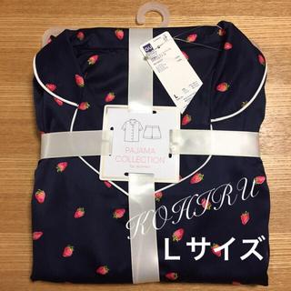 ジーユー(GU)のGU いちご柄  Lサイズ 半袖+ショーパンセット  新品(パジャマ)