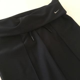 ナイキ(NIKE)のNIKE トレーニング パンツ  レディース ブラック Sサイズ(ヨガ)