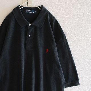 ポロラルフローレン(POLO RALPH LAUREN)のUS ラルフローレン 5blackrd ビッグサイズ ポロシャツ XLT(ポロシャツ)