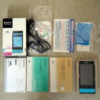 ウォークマン(WALKMAN)のSONY ウォークマン Fシリーズ NW-F806 32GB ブルー(ポータブルプレーヤー)