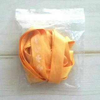 アディダス(adidas)のアディダス  オレンジ靴紐(その他)