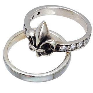 ブレス(BLESS)の期間限定最終値下げBLESS 人気のシェルリング セット(リング(指輪))