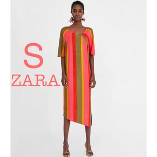 ザラ(ZARA)のZARA ザラ ロングワンピース ワンピース S(ロングワンピース/マキシワンピース)