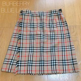 バーバリーブルーレーベル(BURBERRY BLUE LABEL)の◇ ラップスカート ◇(ミニスカート)