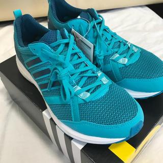 アディダス(adidas)のランニングシューズ adizero tempo boost ライトグリーン 28(シューズ)