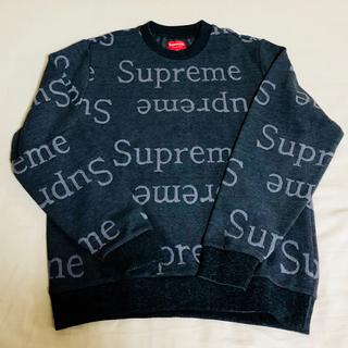 Supreme - 新品 Supreme Jacquard Logo Crewneck Sサイズ