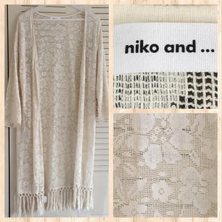 niko and... - niko and...  花柄レースガウン