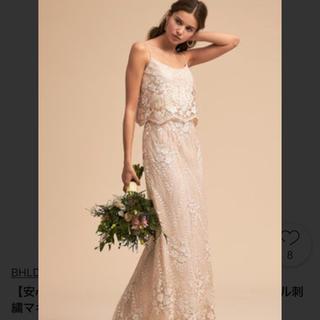 Vera Wang - bhldn 刺繍ストレートドレス 二次会ドレス