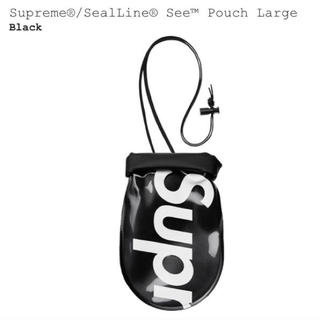 シュプリーム(Supreme)の L Supreme SealLine See Pouch black 大(その他)