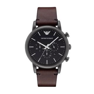 エンポリオアルマーニ(Emporio Armani)のEmporio Armaniドレス腕時計 ダークブラウン(腕時計(アナログ))